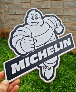 Placa Decorativa Michelin