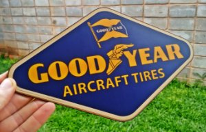 Placa Decorativa Goodyear