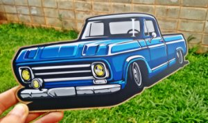 Placa Decorativa Chevrolet C10