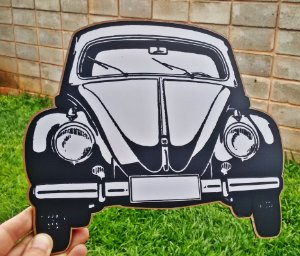 Placa Decorativa Volkswagen Fusca