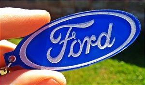 Chaveiro Ford Acrílico