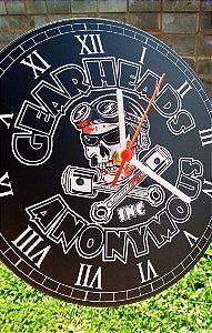 Relógio de Parede GearHead - Com Pilha