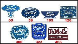 Adesivos Ford - Vintage Retrô