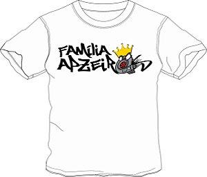 Camiseta Família Apzeiros Turbo Branca Personalizada com seu NOME e CARRO