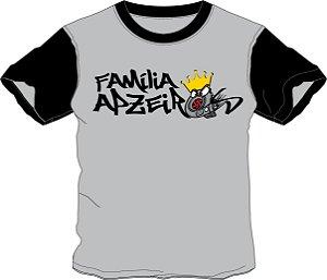 Camiseta Família Apzeiros  Turbo Cinza/Preta Personalizada com seu NOME e CARRO