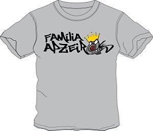Camiseta Família Apzeiros Turbo Cinza Personalizada com seu NOME e CARRO