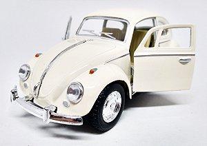Volkswagen Fusca  Bege - Escala 1/32 - 13 CM