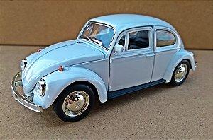Volkswagen Fusca Branco - Escala 1/32 - 13 CM