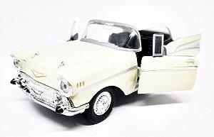 Chevrolet Bel Air  1957 Bege - Escala 1/38 - 12 CM