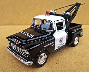 Chevrolet 3100 Wrecker 1955 Policia - Escala 1/32 - 13 CM
