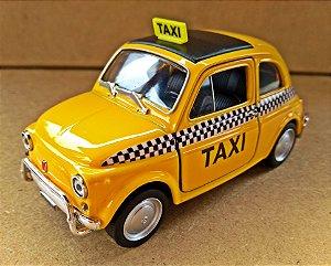 Fiat 500  Taxi - Escala 1/24 - 10 CM