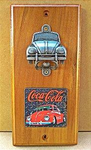 Abridor de Garrafa Fusca Coca Cola