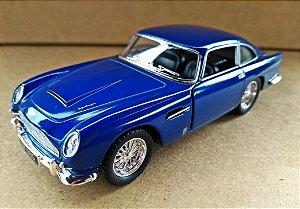 Aston Martin DB5 1963 Azul - Escala 1/38 13 CM