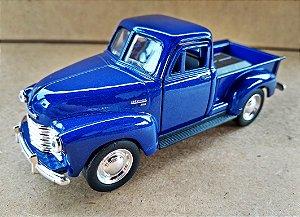 Chevrolet 3100  Pickup 1953 Azul- Escala 1/38 13 CM