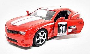Chevrolet Camaro Racing Vermelho - Escala 1/38 - 12 CM