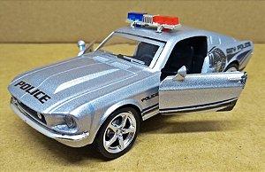 Shelby GT 500 Police - Escala 1/38 -12 CM
