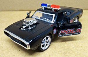 Dodge Charger 1970 Police - Escala 1/38 -12 CM