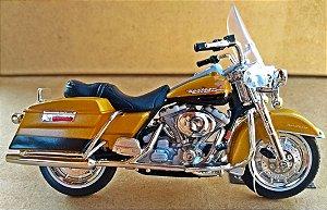 Harley Davidson Road King 1999 -  ESCALA 1/18 - 12 CM