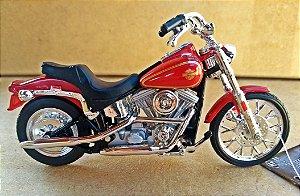 Harley Davidson Softail 1984 -  ESCALA 1/18 - 12 CM
