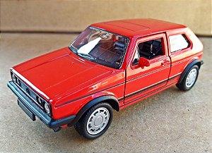 Volkswagen Golf GTI Vermelho - Escala 1/32 12 CM