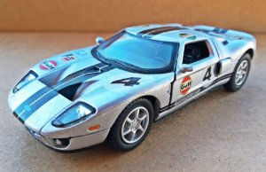 Ford GT 2006  Racing - ESCALA 1/36 - 12 CM