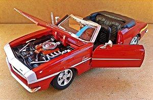Chevrolet Camaro SS 1968 - ESCALA 1/24 - 19 CM