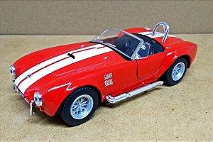 Shelby Cobra 427 1965  Vermelho - ESCALA 1/32 - 13 CM