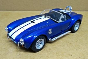 Shelby Cobra 427 1965  Azul- ESCALA 1/32 - 13 CM
