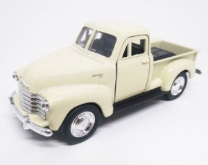 Chevrolet 3100  Pickup 1953 Bege - Escala 1/38 13 CM
