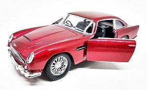 Aston Martin DB5 1963 Vinho - Escala 1/38 13 CM