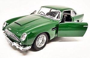 Aston Martin DB5 1963 Verde - Escala 1/38 13 CM