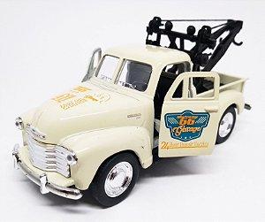 Chevrolet 3100 Guincho 1953 Bege - Escala 1/38 12 CM