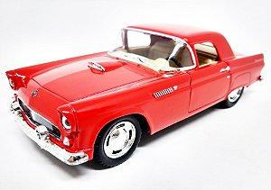Ford Thunderbird 1955 Vermelho - Escala 1/36 - 12 CM