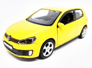 Volkswagen Golf GTI Amarelo - Escala 1/32 12 CM