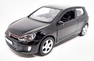 Volkswagen Golf GTI Preto - Escala 1/32 12 CM