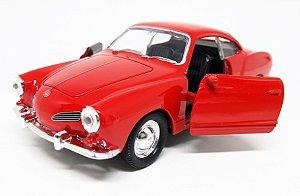 Volkswagen Karmann Ghia 1962 Vermelho - Escala 1/43 - 11 CM