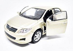 Toyota Corolla Dourado - ESCALA 1/43 - 12 CM