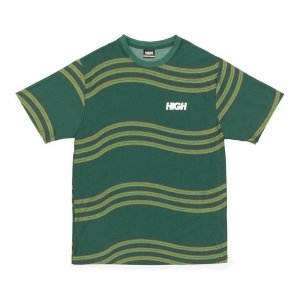 Camiseta High Company Tee_Kidz Wavy Green