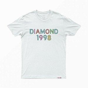 Camiseta Diamond Radiant Neon White