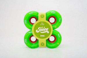 Roda Hondar LongBoard Juice Shock 65mm Verde