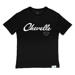 Camiseta Diamond Chevelle Black Collab Chevrolet