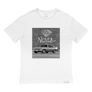Camiseta Diamond Nova By Chevrolet White