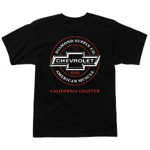Camiseta Diamond American Muscle Black