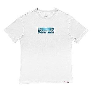 Camiseta Diamond Flower Box White