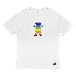 Camiseta Grizzly Pride Bear White
