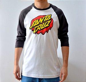 Camiseta Santa Cruz 3/4 Drip Dot
