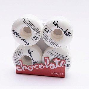 Jogo de Roda Chocolate 53mm Staple