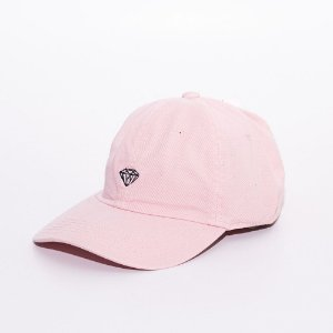 Boné Aba Curva strapback Diamond Supply mini logo