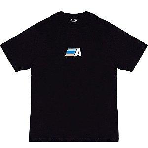 Camiseta Alfa Colors Preta