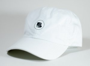 Boné Bamboo Dad Hat logo - Branco